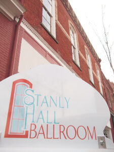 The re-discovered Stanly Hall Ballroom in downtown New Bern will host a post-Valentine Day dance on Saturday, Feb. 16.