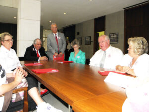 Beaufort, Pamlico, and Hyde County representatives meet Wednesday with state Sen. Stan White, one legislator who has publicly stated his opposition to any new or increased ferry tolls.