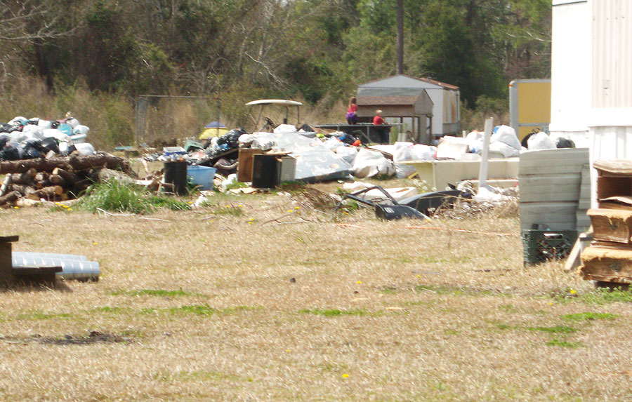 Trash Mounts At Reelsboro Trailer Park The County Compass