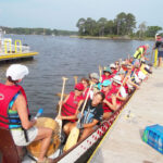 WELCOME DRAGON BOAT PADDLERS
