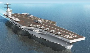 One or more aircraft carriers may be operating off the North Carolina coast this week.