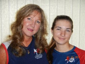 Debbie Schmelty, and her daughter Crystal