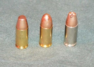 Ammunition for the weapon includes a target practice cartridge, a regular cartridge, and a hollow point cartridge.
