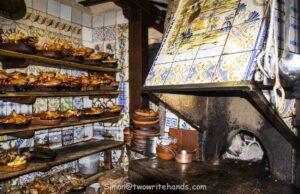 The original oven of Botin, the world's oldest restaurant.