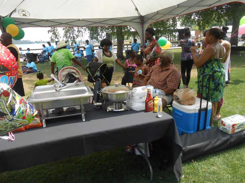 From June of last year, this photo depicts part of the popular Juneteenth Celebration, scheduled this year for Saturday, June 20th.