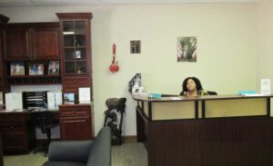 The modest offices of River City CDC is the hub of many different programs.
