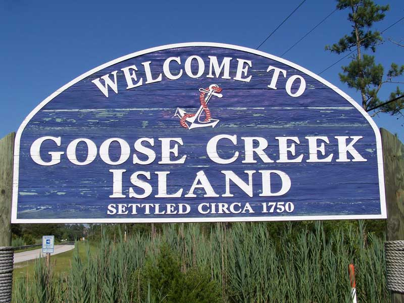 Ducks have been flying over Goose Creek Island even before 1750.