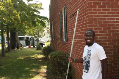 Jeffrey Smith is an Americorps VISTA employee with YouthBuild.