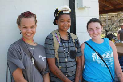 Myazah, Keyanna, and Tiffany have been inspired by YouthBuild to pursue their GED degrees.
