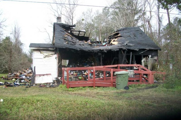A fire earlier this month killed a woman, whose daughter works at Hardees.