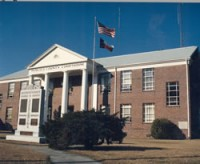 Pamlico County Courthouse.