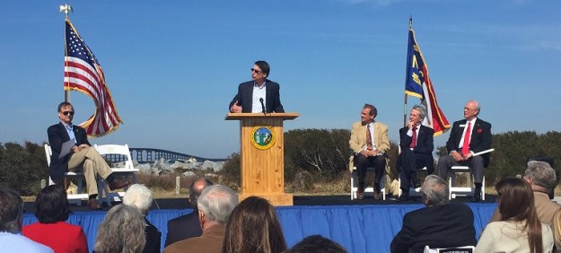 Gov. Pat McCrory and other dignitaries were on hand Tuesday morning for groundbreaking ceremonies.