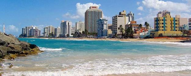 Condado Beach in San Juan, Puerto Rico.
