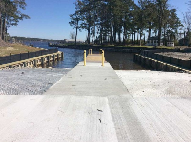 Forget the term 'ramp.' The site is now a gleaming 'Boating Access Area!'