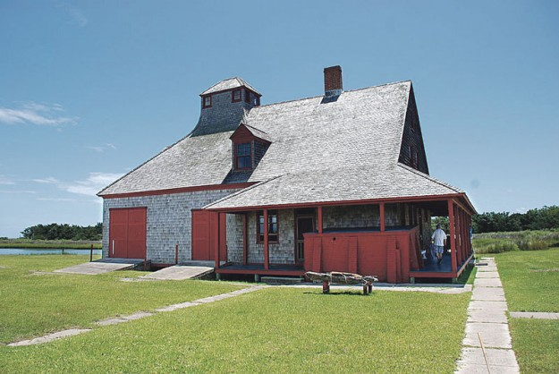 U.S. Life-Saving Sation built in 1894 and decommissioned in 1937.