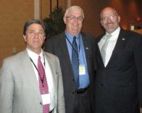 From left, John Chaffee, Vann Rogerson, and John Evans.