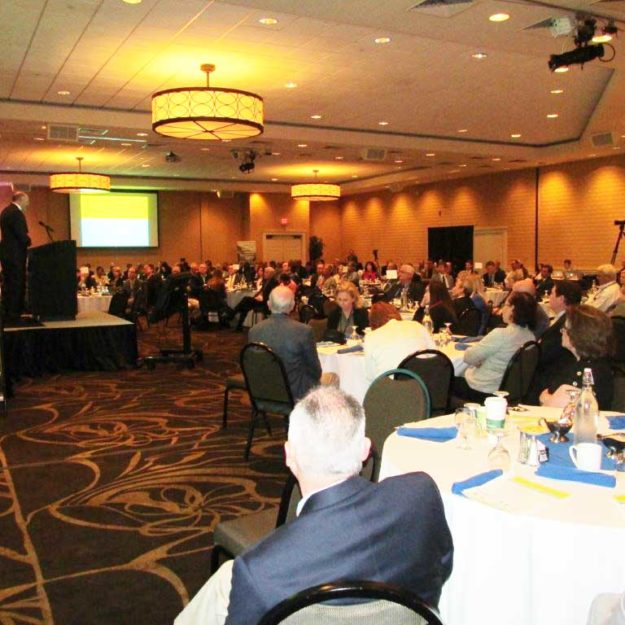 The State of the Region conference attracted a large crowd last week in Greenville.