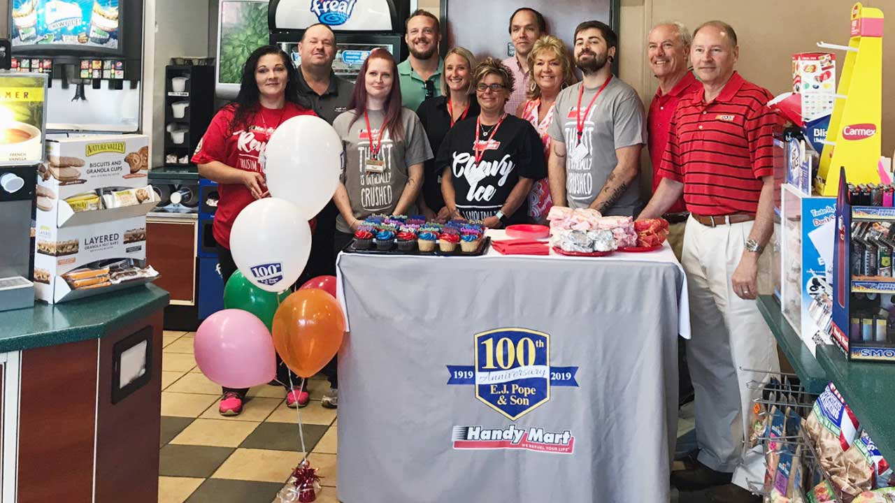 Handy Mart ownership celebrates 100 years - The County Compass