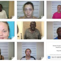 Eight people arrested in drug bust