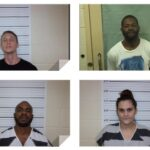 Four people  on probation in Pamlico County arrested for parole and drug violations.